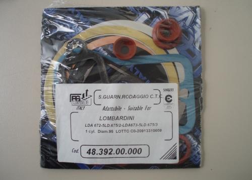 Pochette Joints Rodage LDA672 LDA673 LDA674  LOMBARDINI ED0081850040-S