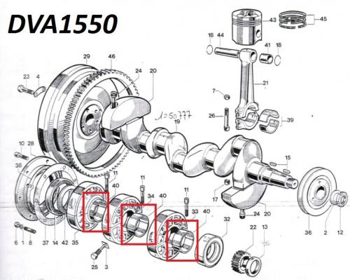 Coussinet banc DVA920 DVA1030 DVA1550 SLANZI - Ø55.45mm ED0016111720-S