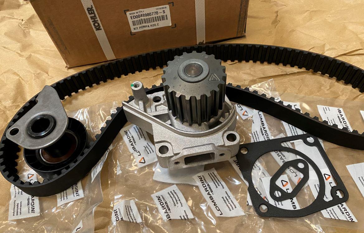 ED0048980770-S Kit Distribution Lombardini moteur FOCS LDW1204 LDW1404 LDW1204/P LDW1404/P PIAGGIO DEUTZ F4M1008 LOMBARDINI KOHLER 4898077 ED0048980770-S