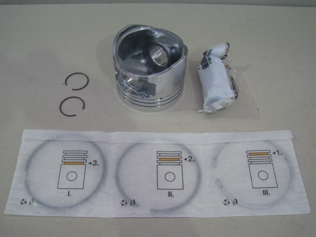 Piston complet CHD LDW1603 LDW2204 LOMBARDINI - Alesage Ø88mm 6501766