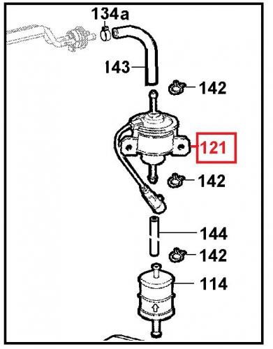Pompe alimentation Electrique FOCS LOMBARDINI LDW502 VSP LDW442 LDW492 - LOMBARDINI 6585169 / 6585157 Ex. 6585111