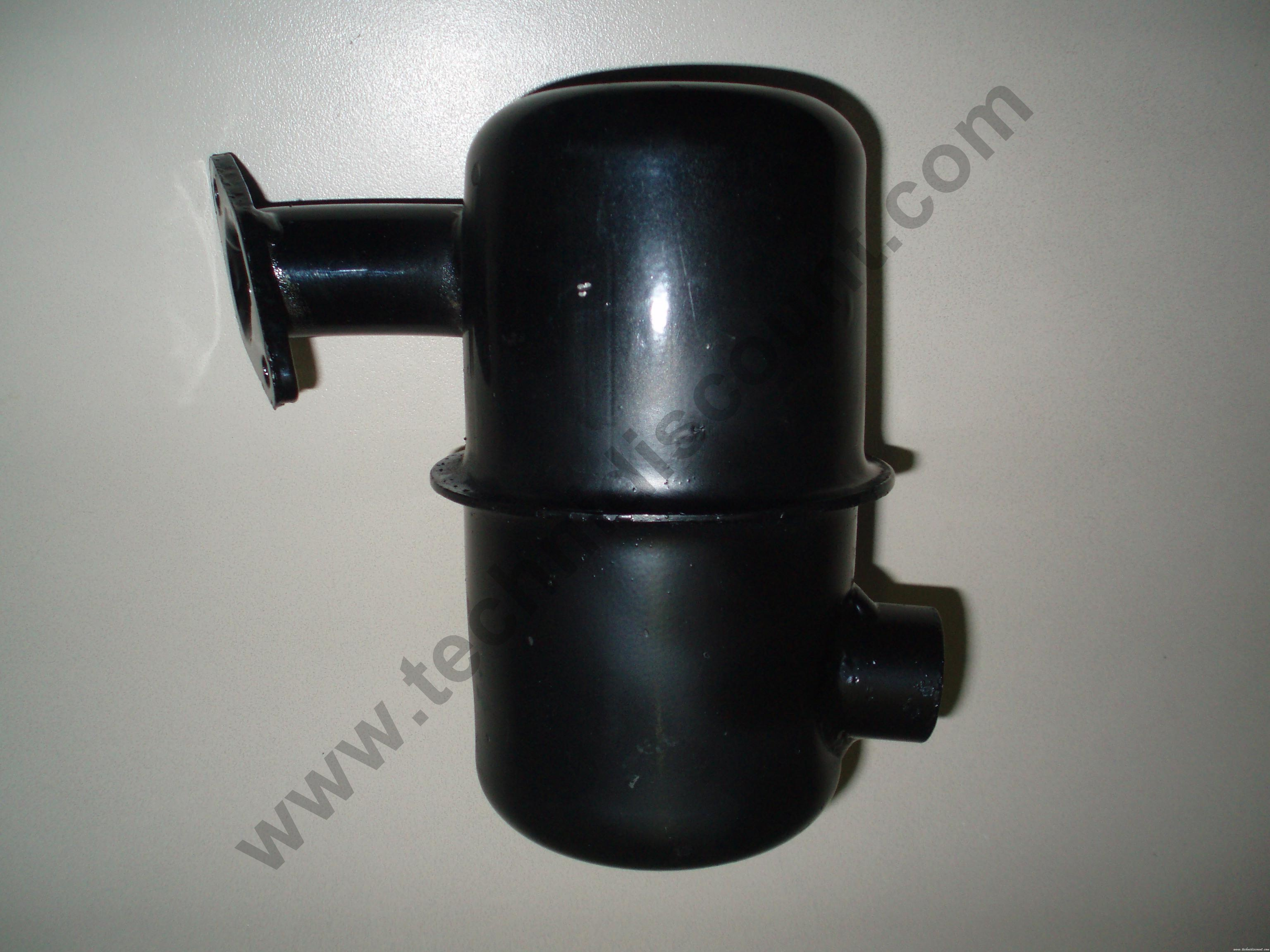 Pot Echappement IM250 IM300 IM350 LA250 LOMBARDINI ALN290 ALN330 ACME montage industriel LOMBARDINI INTERMOTOR 5460410 /  CERMAG 10136