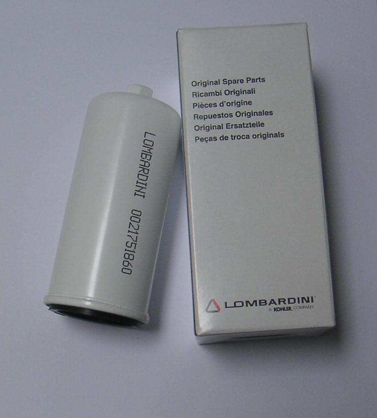 Filtre à Gasoil 6LD325 6LD326 LOMBARDINI 2175186 ED0021751860-S