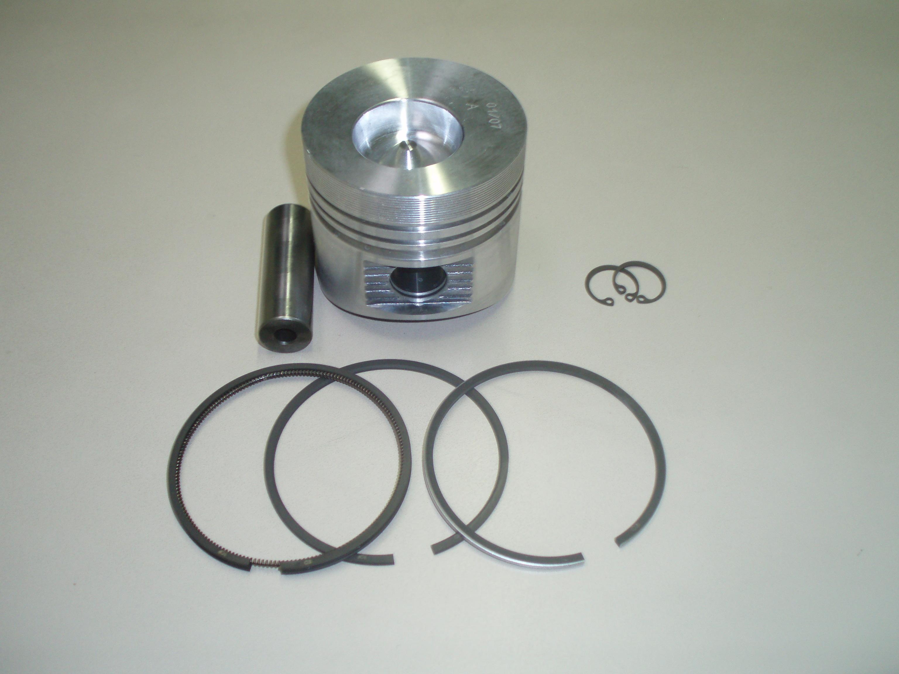 Piston LDA510 3LD510 3LD511 adaptable LOMBARDINI (Ø85 : FIN157PC00 - ED0065010730-S ou Ø85.50 : 6501074)