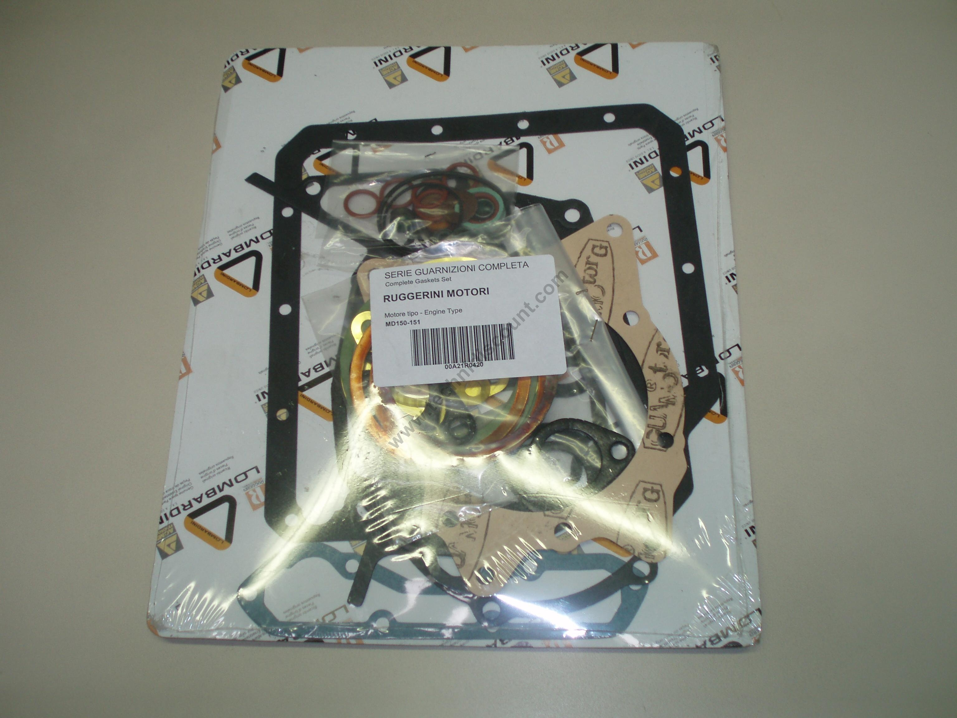 Pochette joints MD150 MD151 25LD330/2 RUGGERINI LOMBARDINI A21R042 ED00A21R0420-S FG4756100000