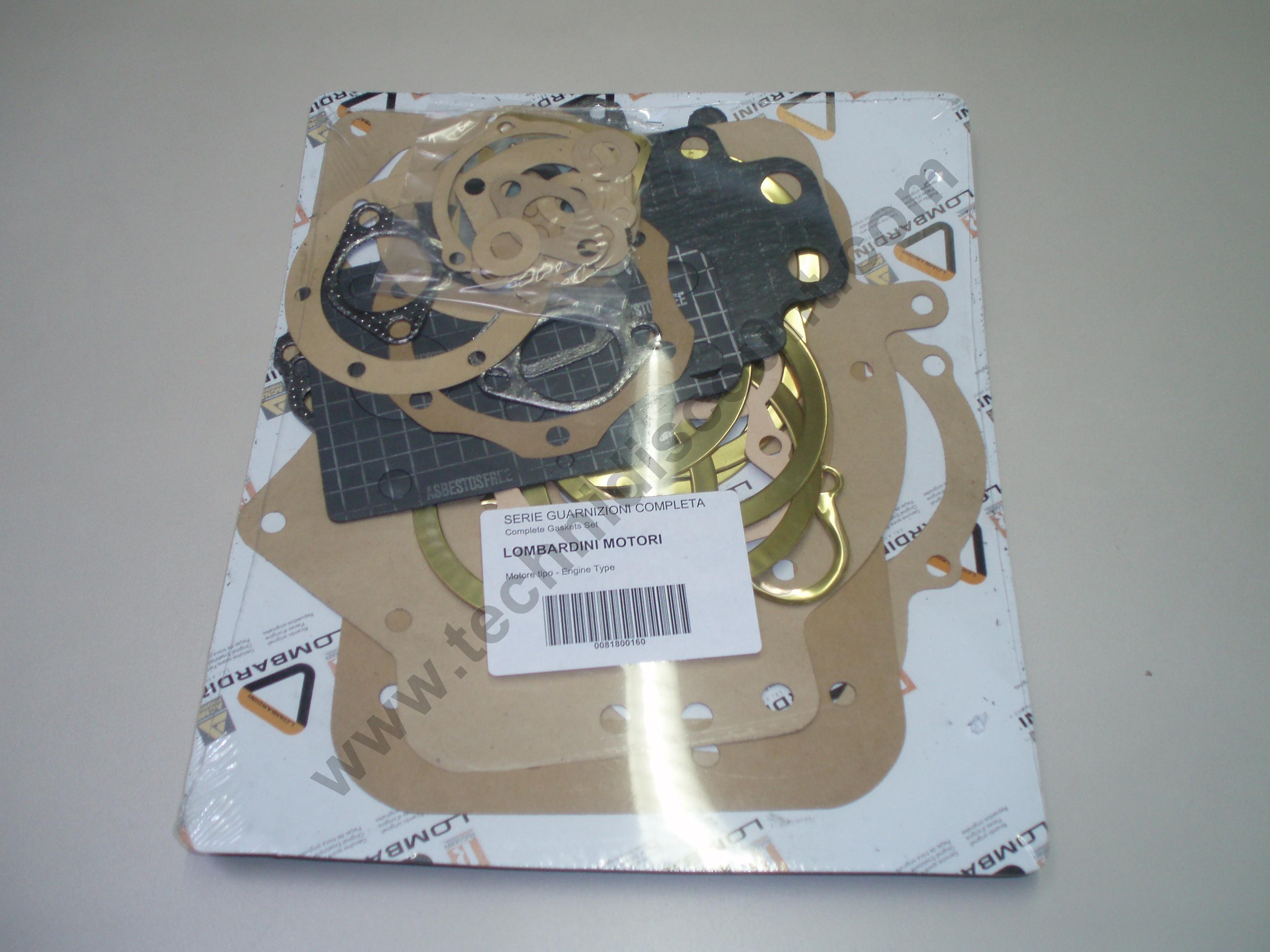 Pochette joints LDA90/2 LDA78/2 LOMBARDINI 8180016 / ED0081800160-S