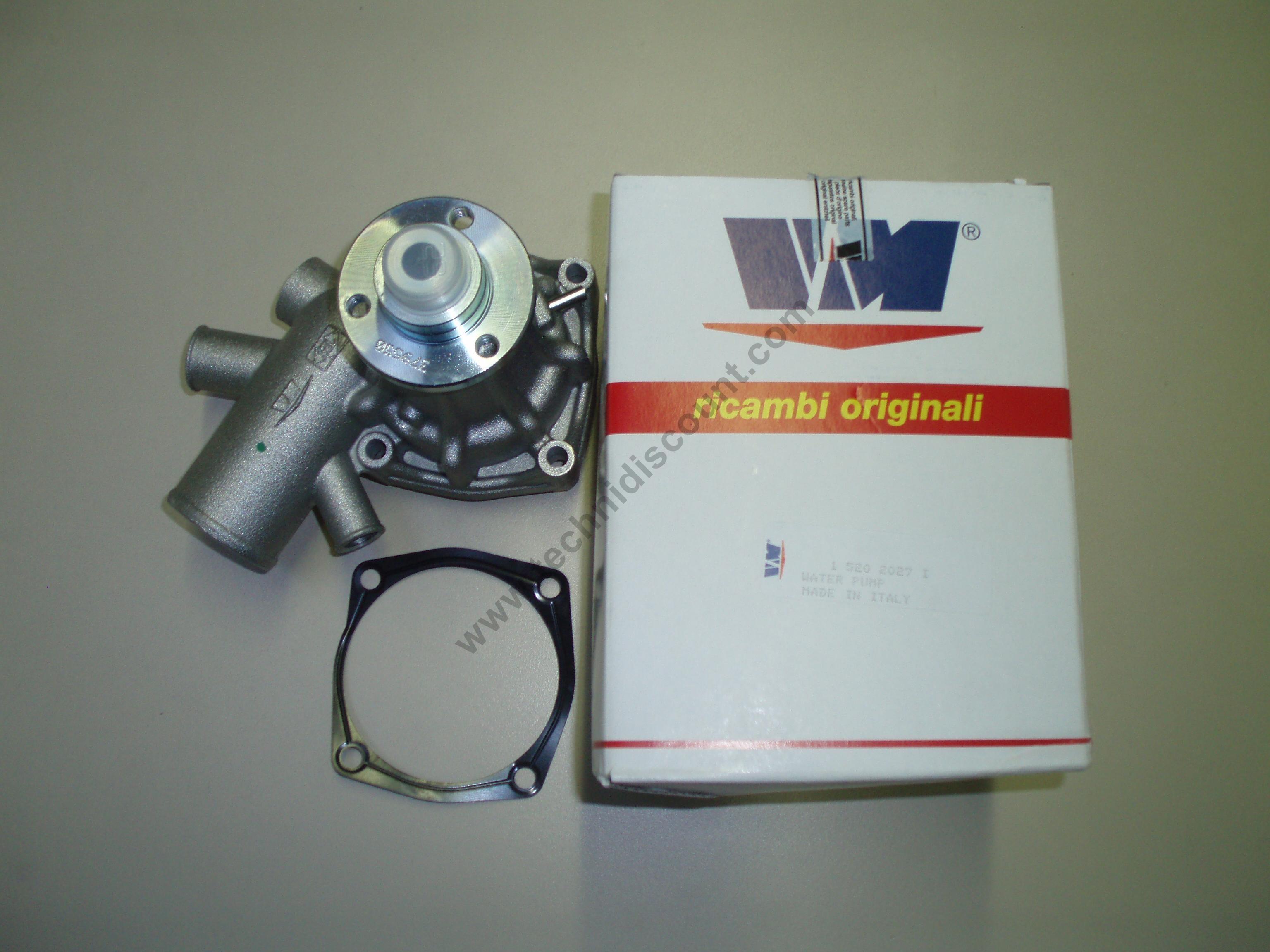 Pompe eau VM motori VM92A/3 HR394HP - HR394HPT - HR494HP - HR494HPT - HT394H - HR394HT - HR494H - HR494HT - HR694HT - D703L - D703LT - D704L - D704LT - D706LT - HR494H (Versione Goldoni) [VM 15202027] Ø48mm