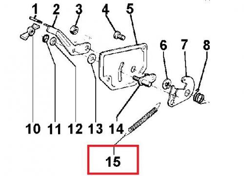 ressort regulation im250 im300 im350 lombardini intermotor