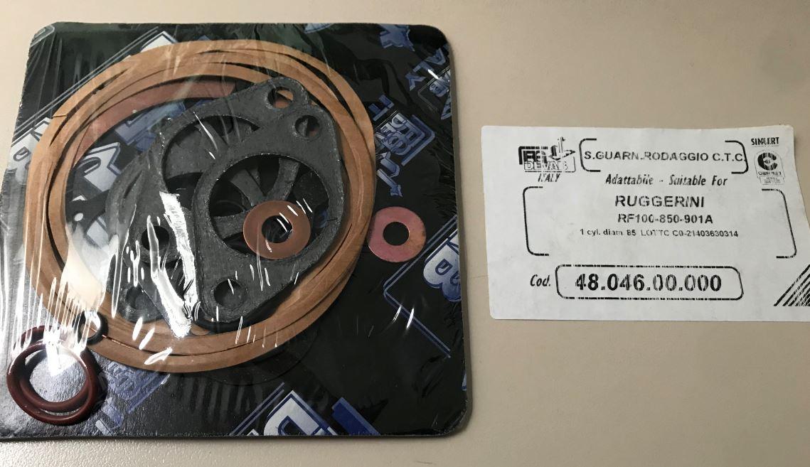 Pochette joints RF100 RD850 RF901A RUGGERINI 2119  21190000 ED0021190000-S / FG4804600000