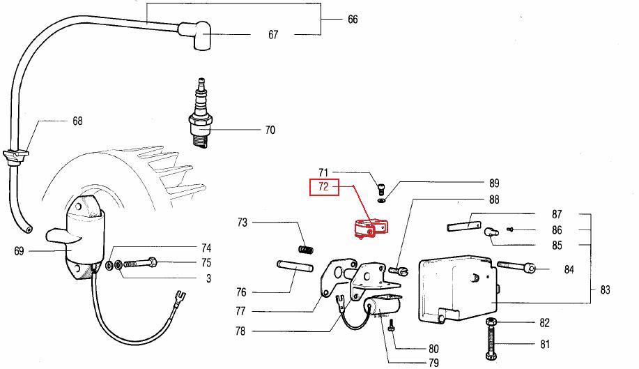 Rupteur ACME ALN290 ALN330 AL290 AL330 / RA26 RA27 RA29 RA30 RUGGERINI 711A005 / 711R005