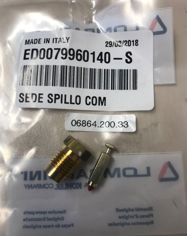 Pointeau IM250 IM300 IM350 IM359 LOMBARDINI INTERMOTOR Carburateur DELLORTO FVA2217 - FVCA2419 - FVCA2621 / 0684.200.33