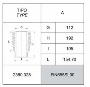 Cylindre DVA1500 SLANZI