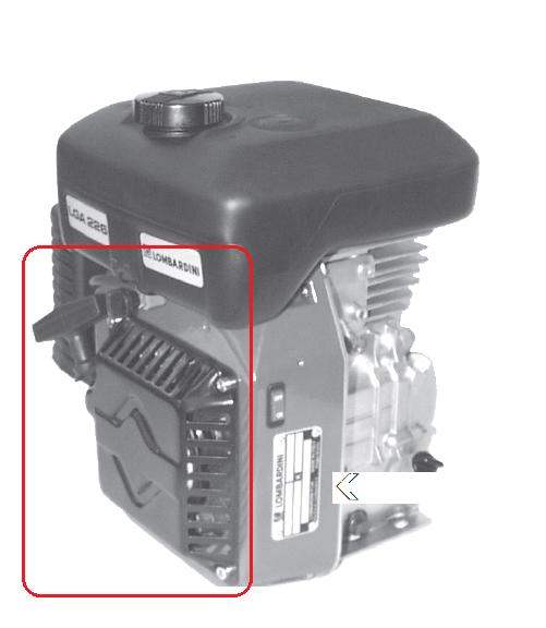 Lanceur LGA184 LGA225 LGA226 LOMBARDINI INTERMOTOR 1471078 / ED0014710780-S