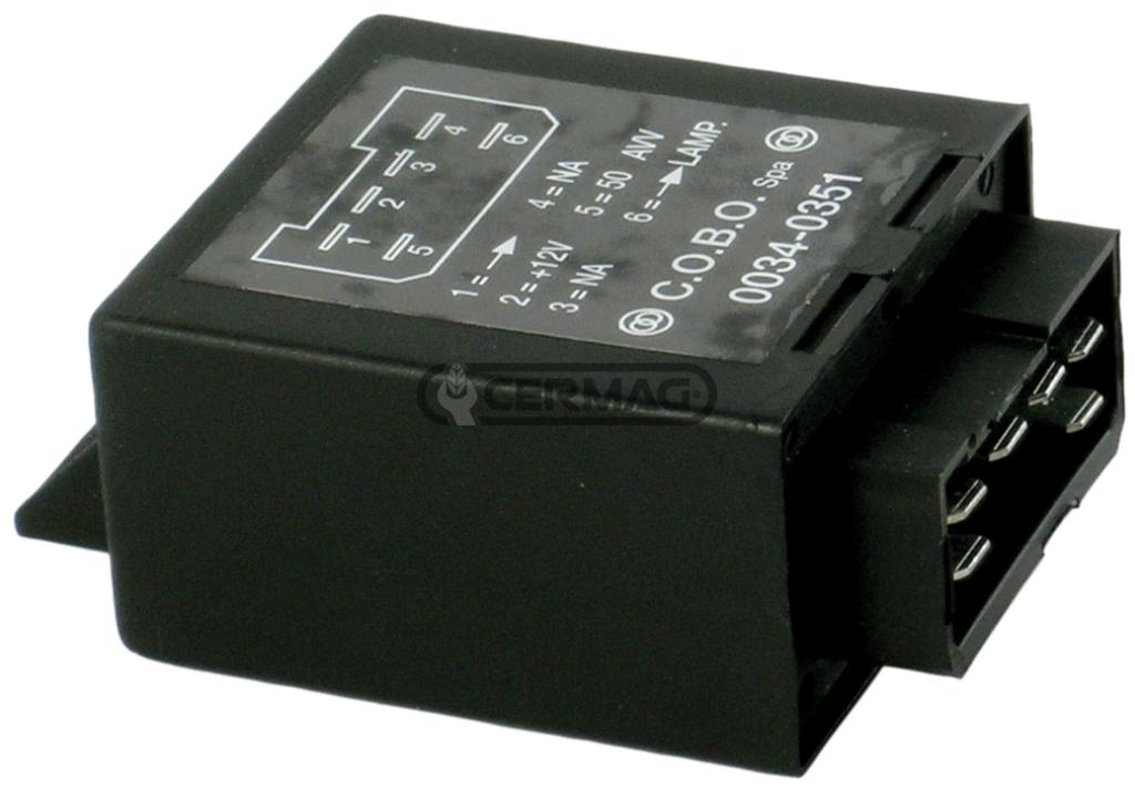 Relais prechauffage 12V COBO 0034-0351