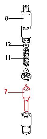 Injecteur MD150 MD170 MD190 MD350 MD351 RUGGERINI 25LD330-2 11LD522-3 LOMBARDINI (775702 - 644R068)