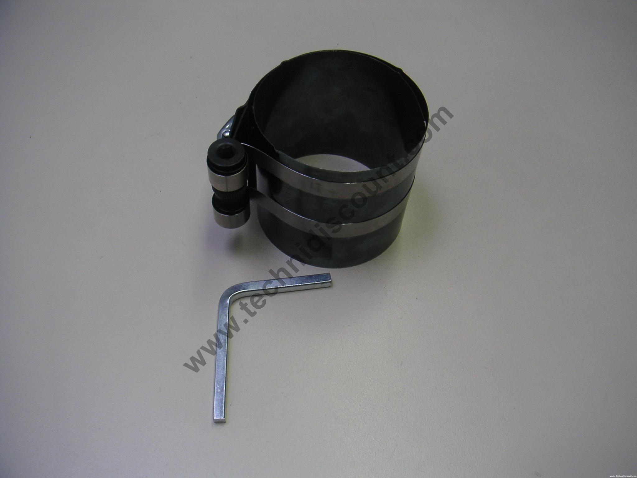 Outil serrage segments sur pistons (pour insérer le piston dans le cylindre) 19230 Briggs & Stratton