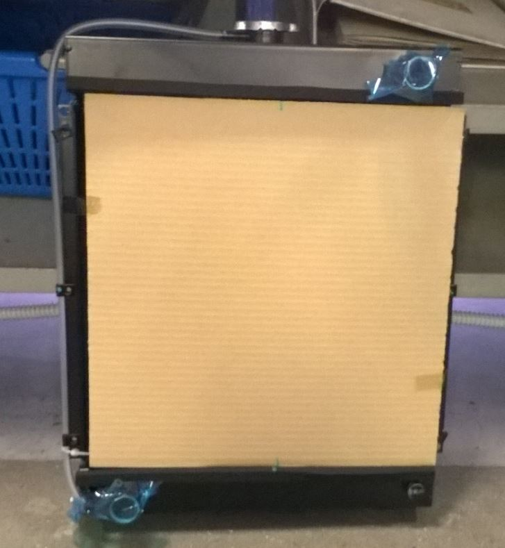 Radiateur triple circuits LDW702 LDW1003 LDW1404 LOMBARDINI KOHLER KDW702 KDW1003 LDW1404 7350321 - ED0073503210-S